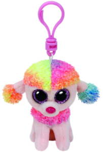 Poodle clip town country. Ty beanie boo rainbow