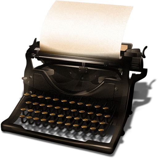 Picture mart. Typewriter png svg library stock
