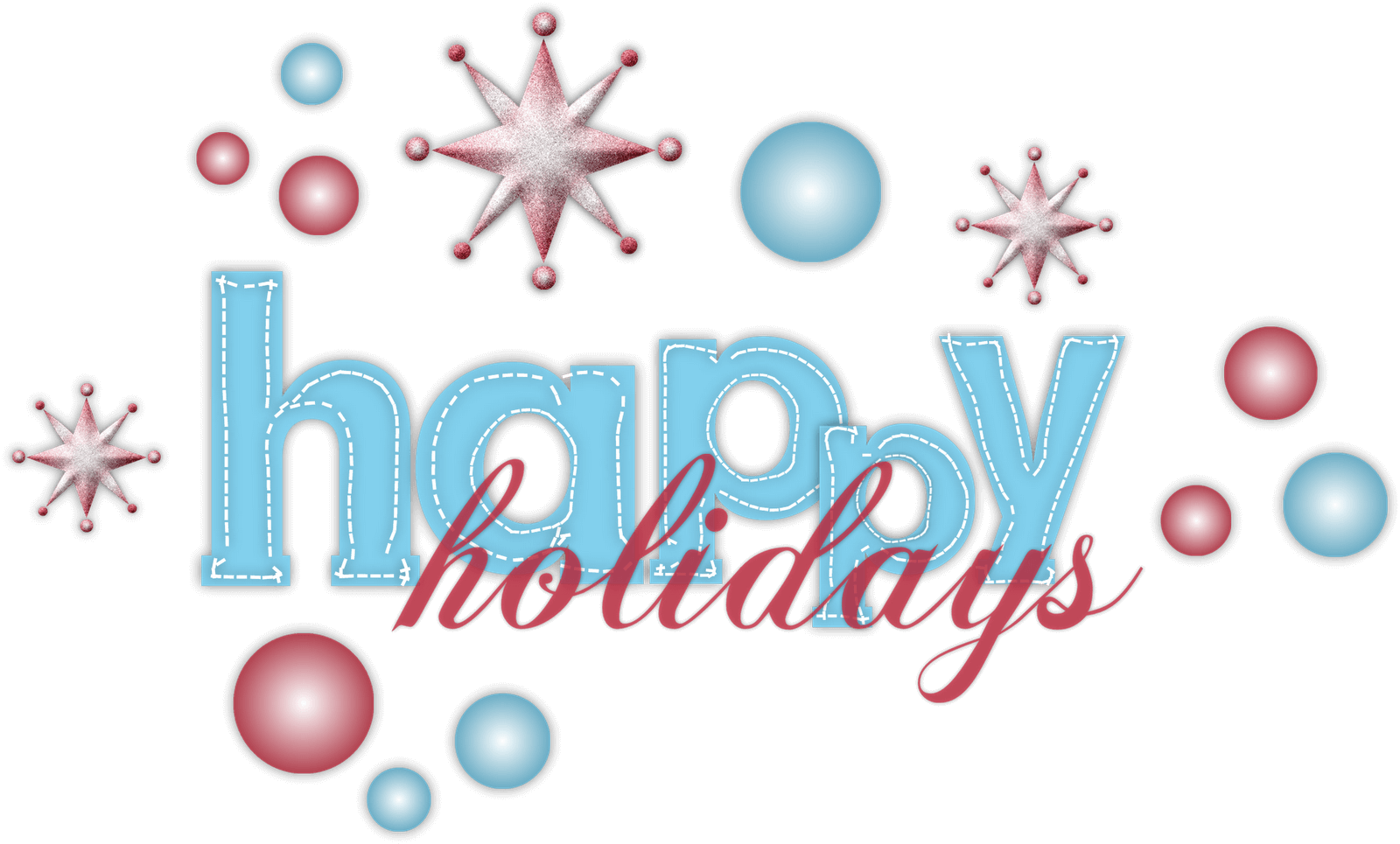 Happy holidays png vintage. Clipart junction free image