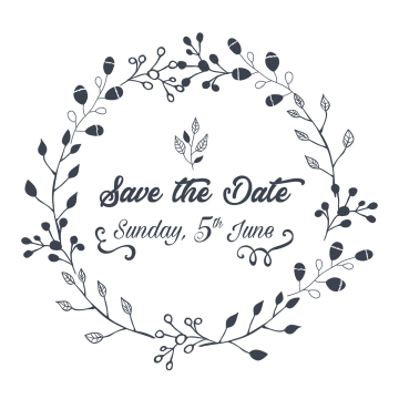 Save the date png. Royal vector filigree vector freeuse library