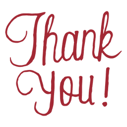 Typography vector thank you. Thx speech bubble download