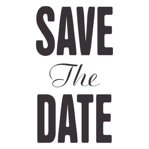 Save the date transparent. Typography vector clip art royalty free download