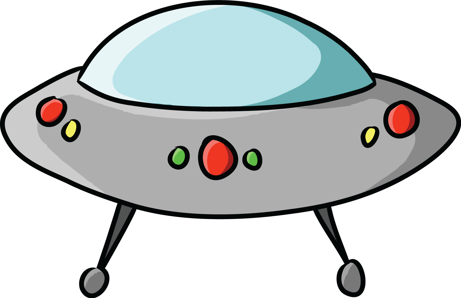 Ufo . Spaceship clipart svg library stock