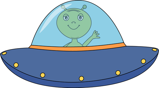 Alien. Ufo clipart graphic library download