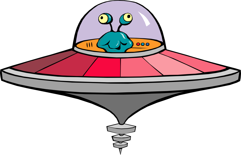 Ufo clipart colorful. Free library cartoon
