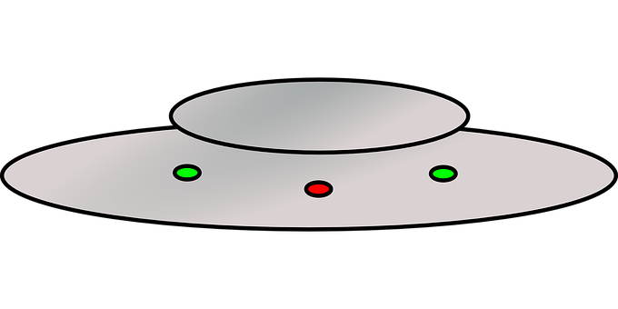Ufo clipart colorful. Space craft free on