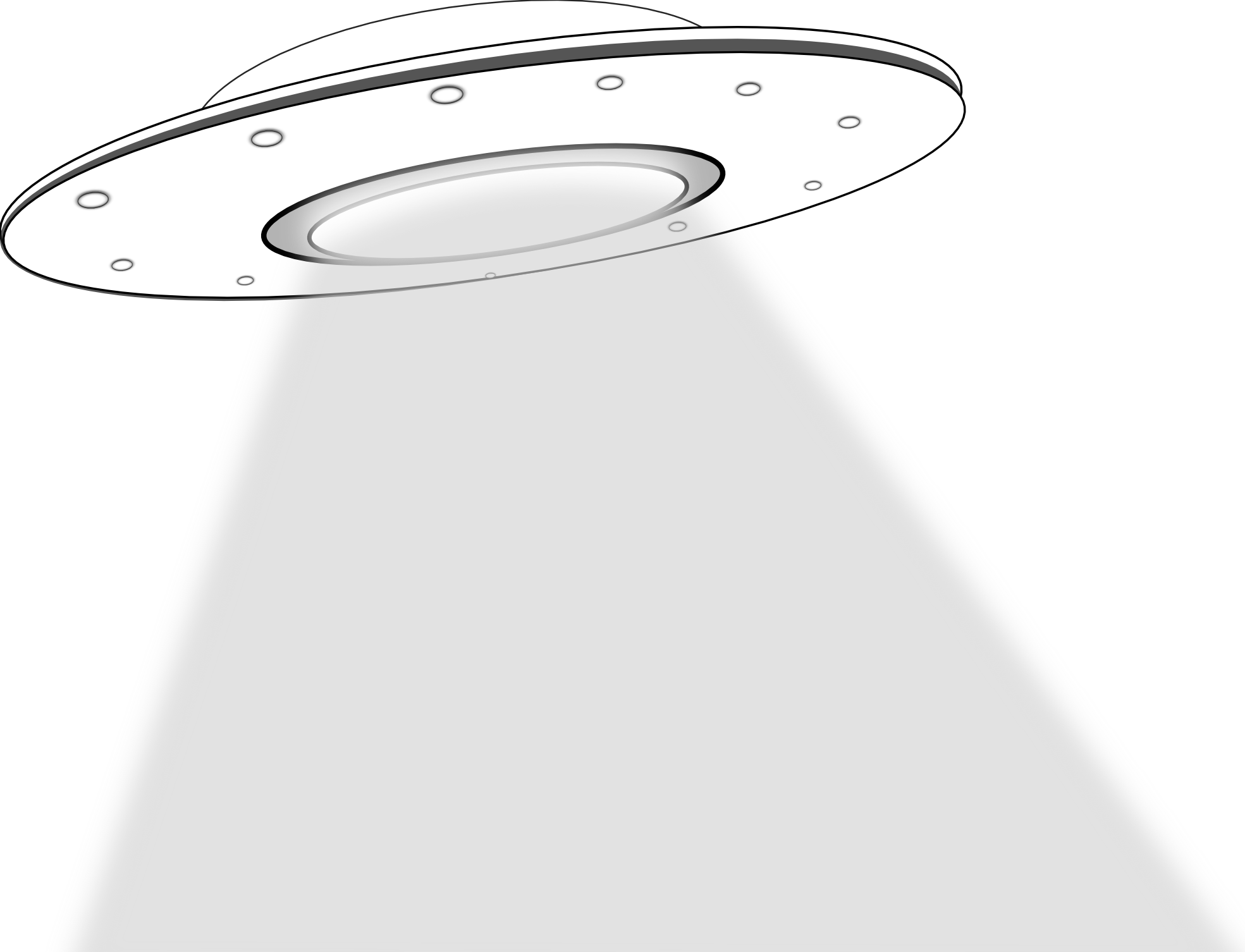 Vector alien black and white. Free ufo cliparts download