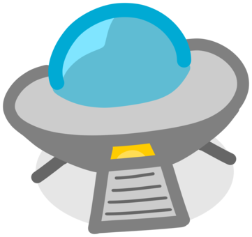 Ufo clipart ufo abduction. Unidentified flying object saucer