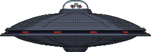 Ufo ship video game side scroller png. Dreadwing boss starbound wiki