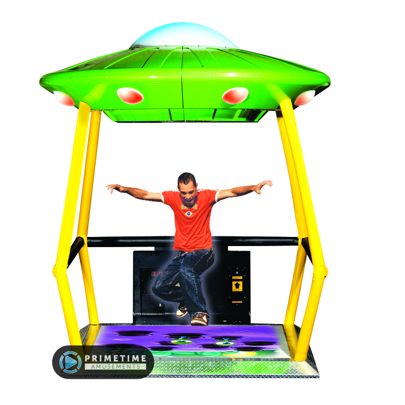 Ufo ship video game side scroller png. Stomper primetime amusements by
