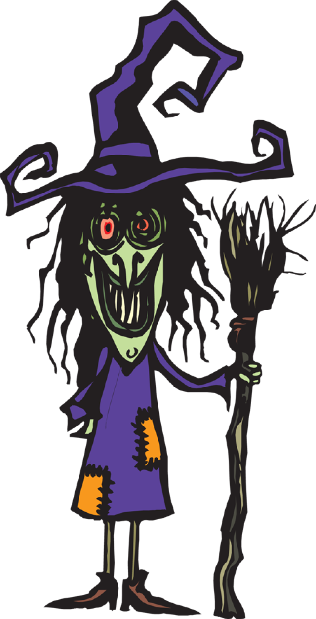 Ugly clipart giant. Pretty witch at getdrawings