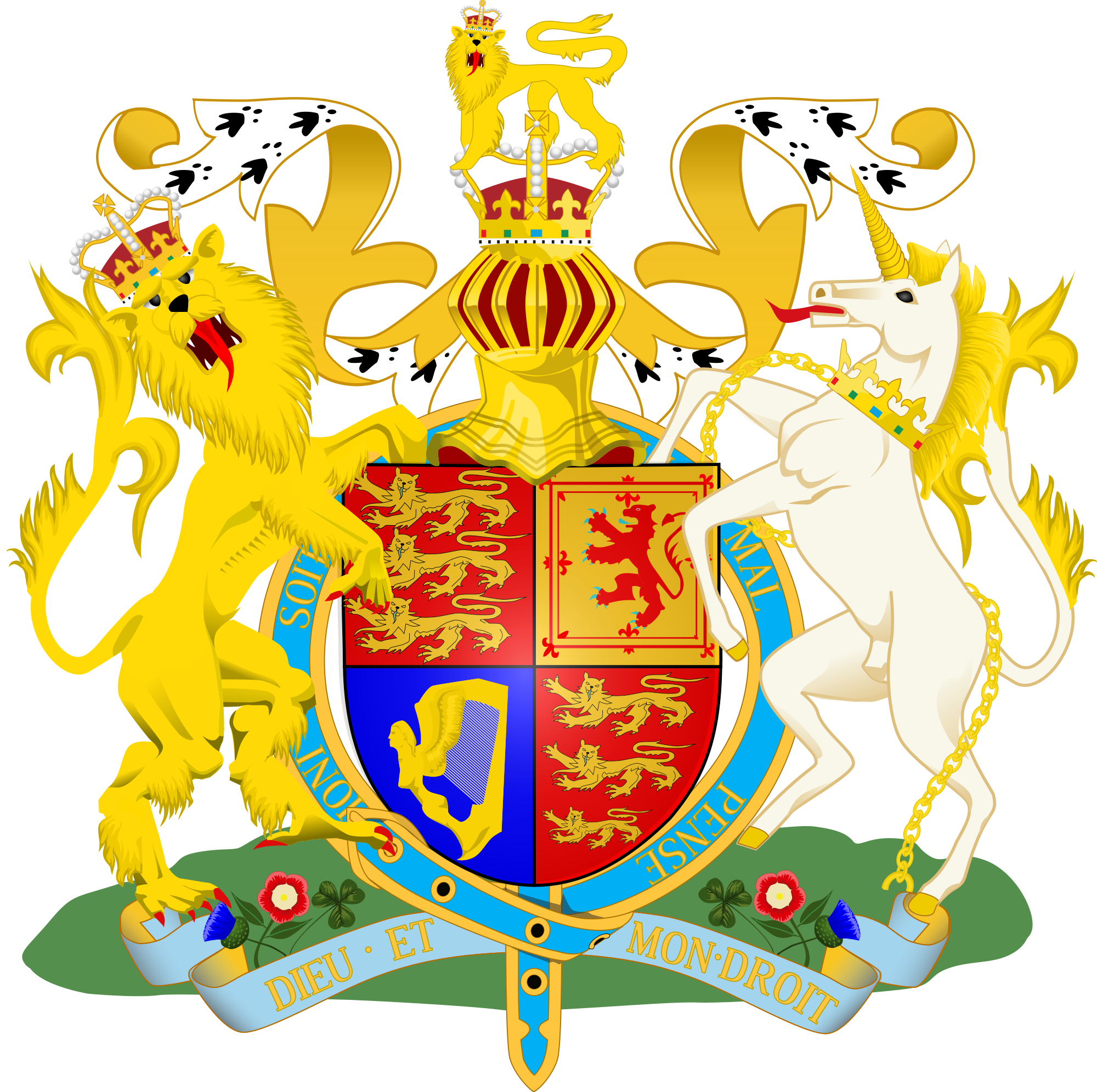 Uk coat of arms png. File royal svg wikimedia