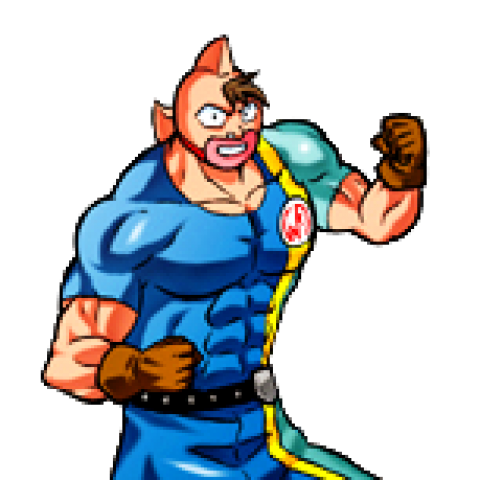 Ultimate muscle kid muscle png. Screenshots images and pictures