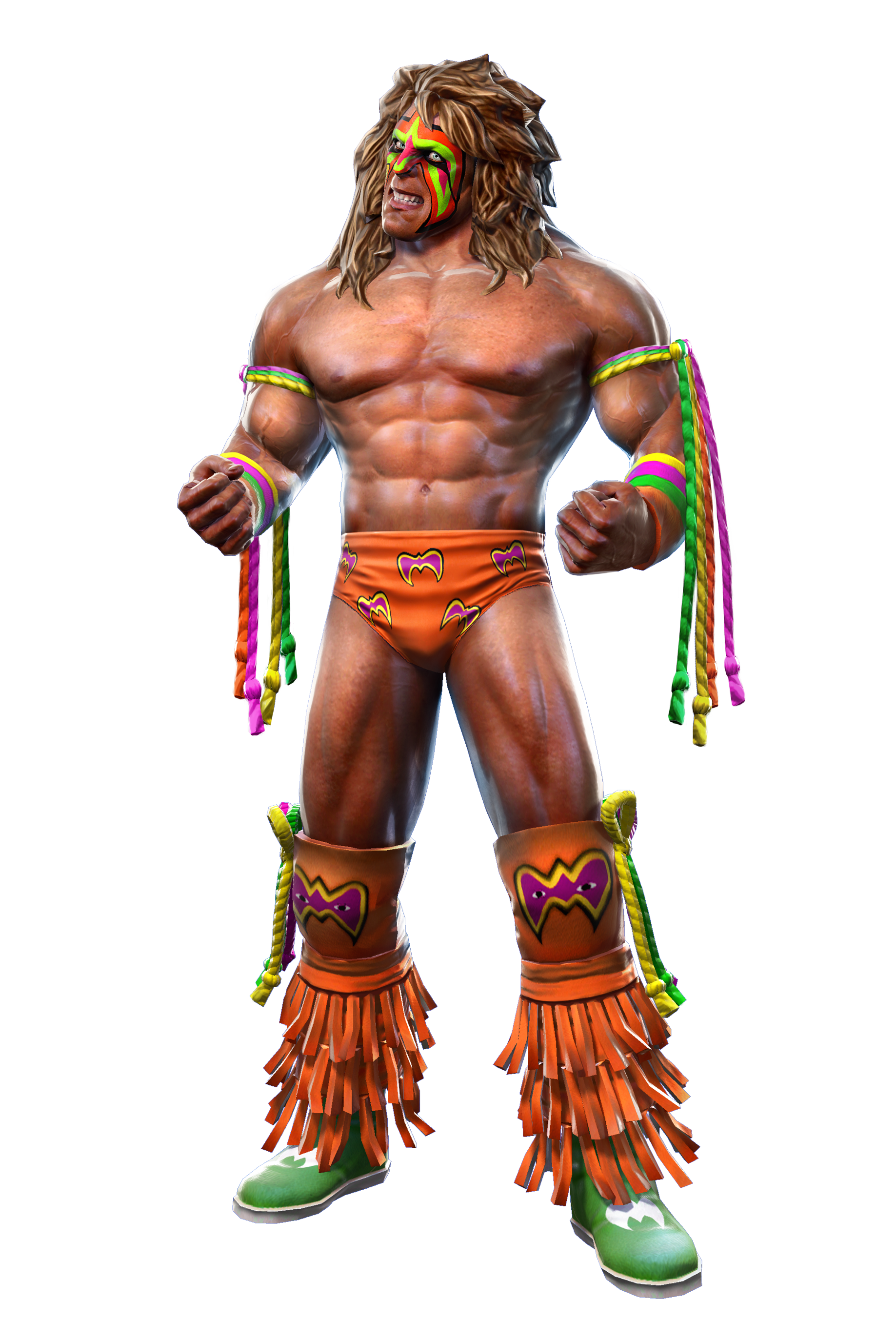 wwe ultimate warrior png