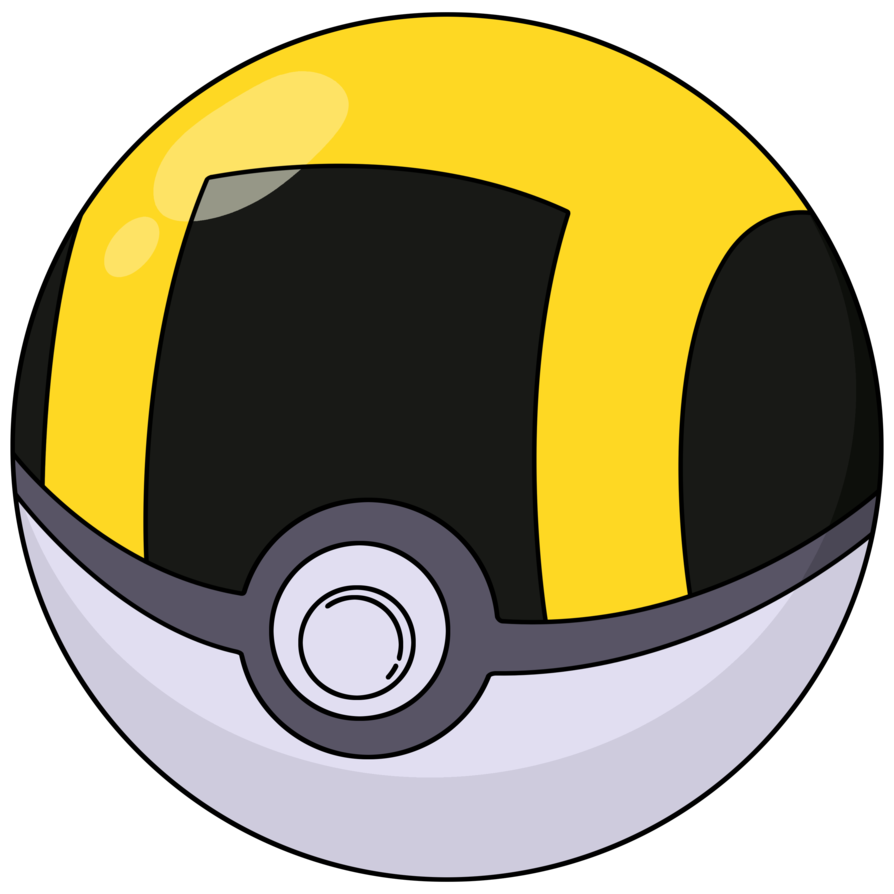 Ultra ball png. By adfpf on deviantart