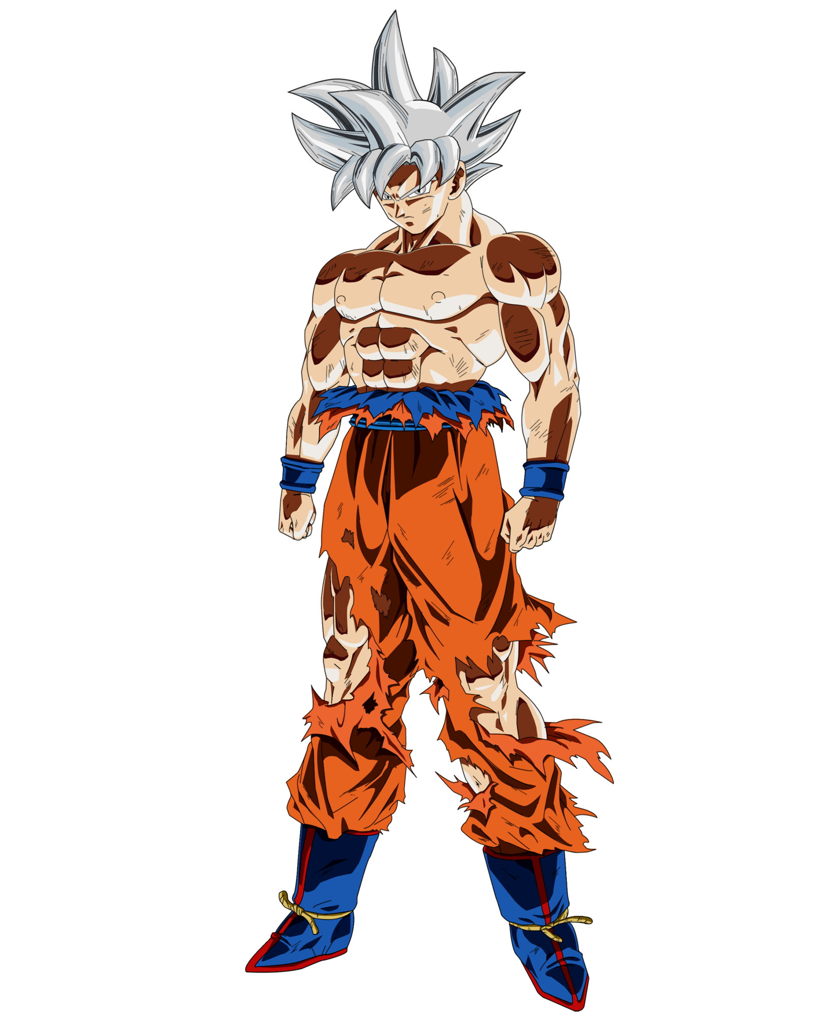 Ultra instinct goku png. Mastered by ruga rell