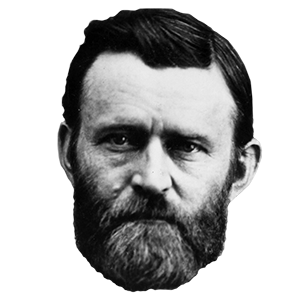 Ulysses s grant png. Presidents day quiz can