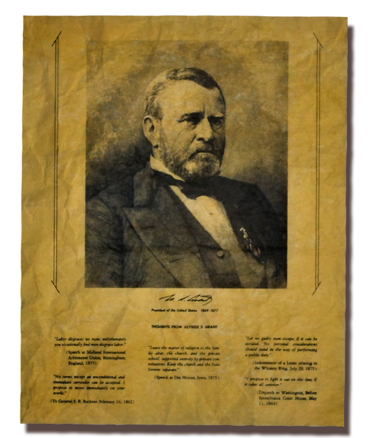 Ulysses s grant png. Thoughts from x ouramendments