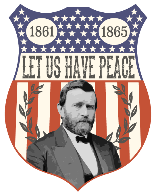 Ulysses s grant png. Election badge by haunter