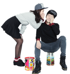 Ulzzang couple png. Thebiggesttiny deviantart akumalovesongs by
