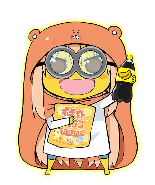 Umaru transparent brother. Why himouto chan know