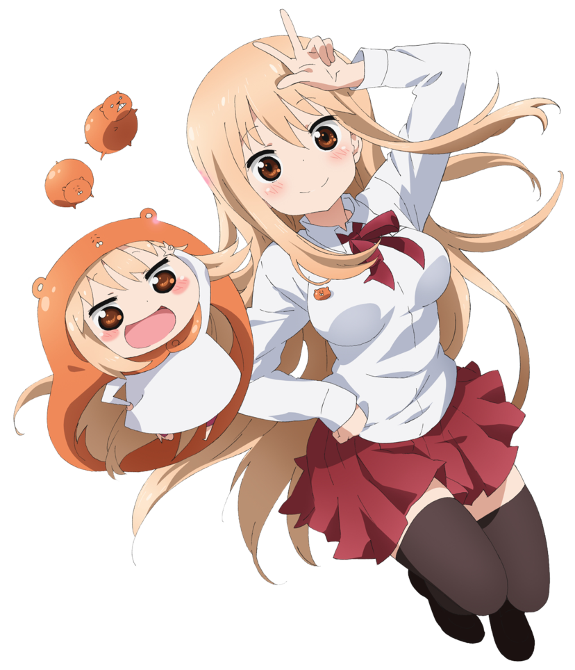 Umaru transparent himouto. Chan render by luxurae