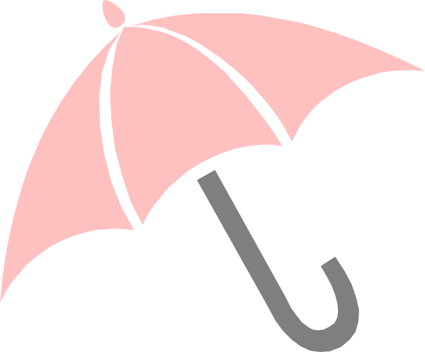 Shower vector animated. Pink umbrella clip art