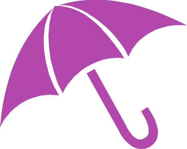Umbrella clip outline. Mulberry clipart art at