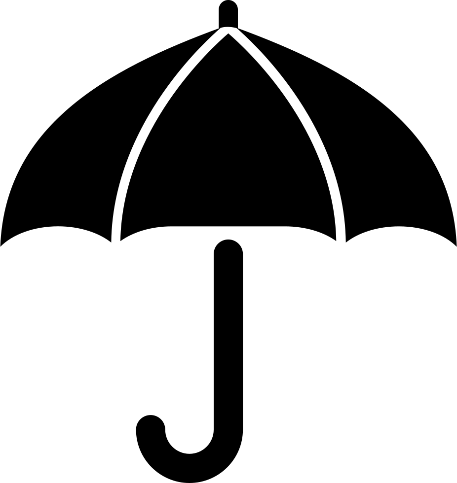 Umbrella clip file. Svg png icon free