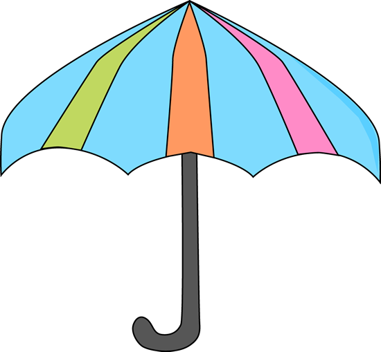Umbrella clipart. Spring