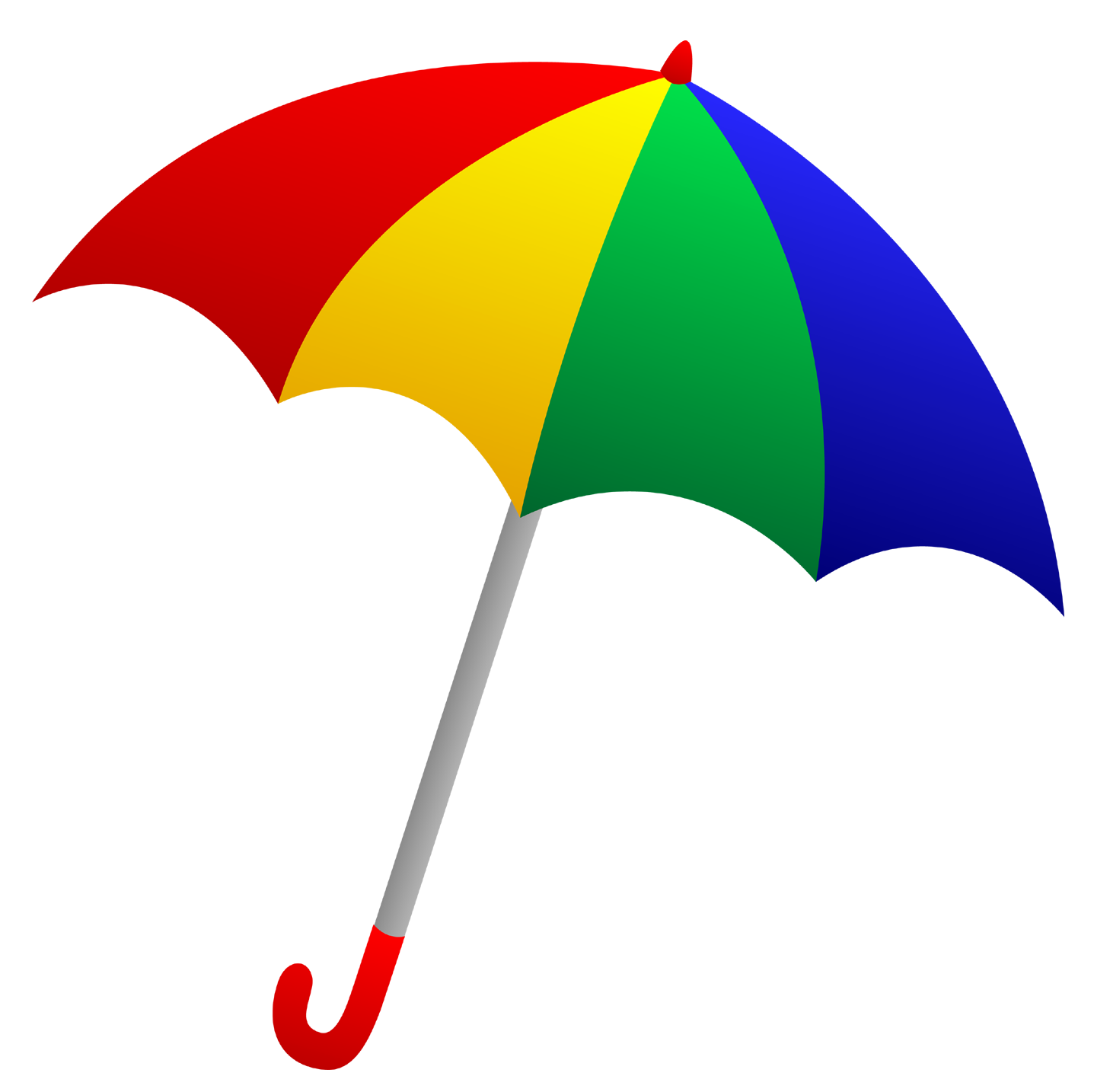 Umbrella clipart clear background. Transparent pencil and in