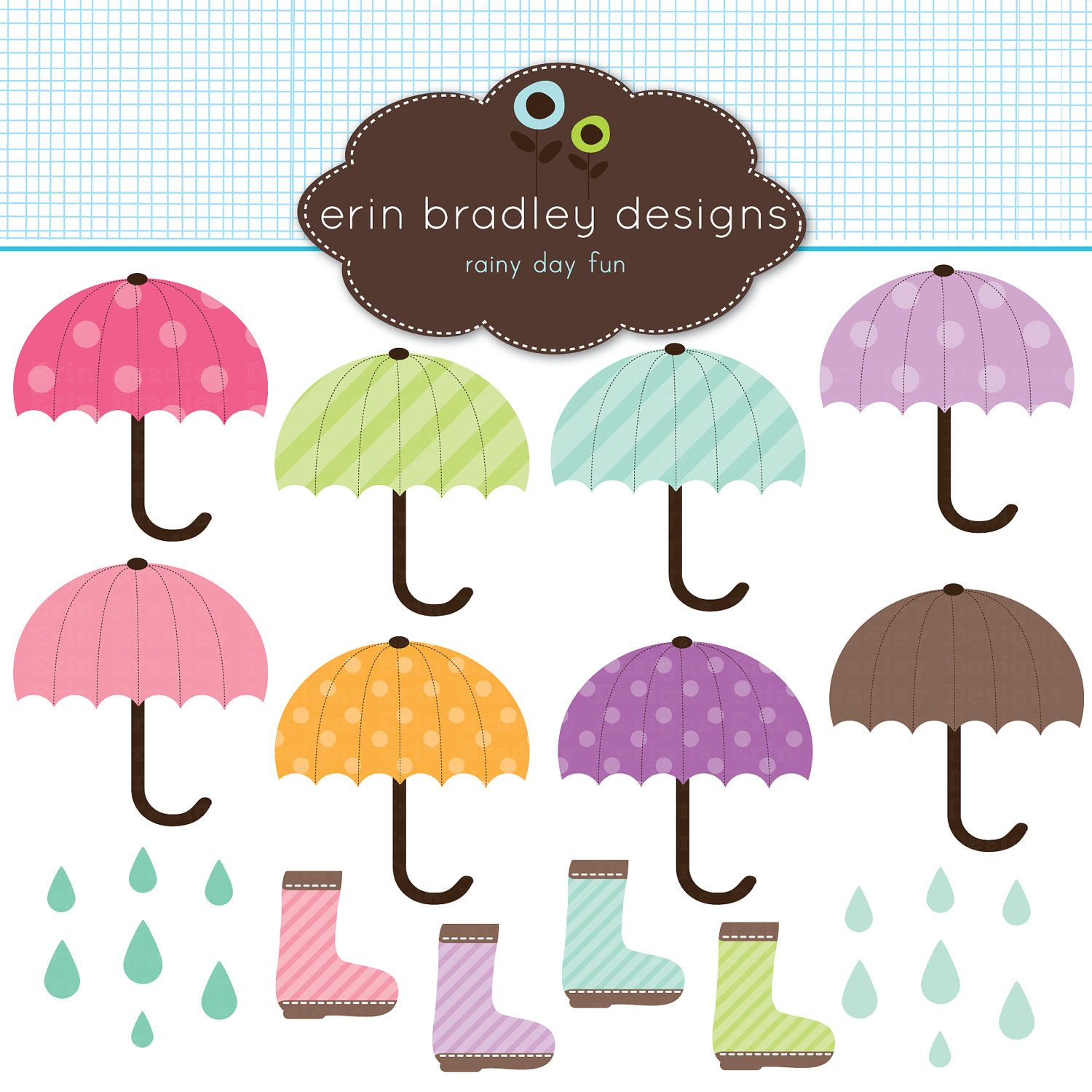 Umbrella clipart clip art. For personal commercial use