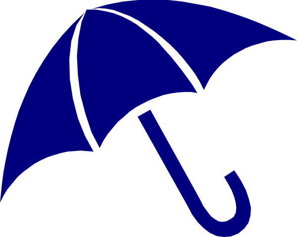 Umbrella clipart clip art. Navy at clker com