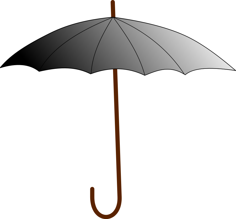 Umbrella clipart file. Boring svg vector clip