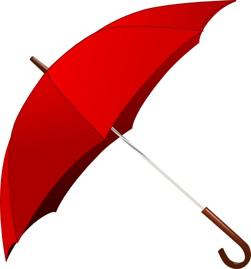 Umbrella clipart png. Red i royalty free