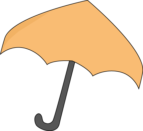 Umbrella clipart printable. Orange magnets or scrap