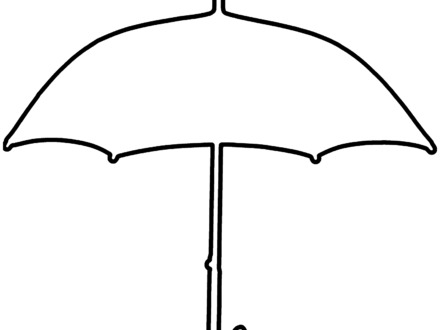 Umbrella clipart printable. Template small vectors photos