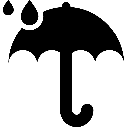 Umbrella clipart raindrops. And icons free download