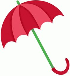 Umbrella clipart silhouette. With at getdrawings com
