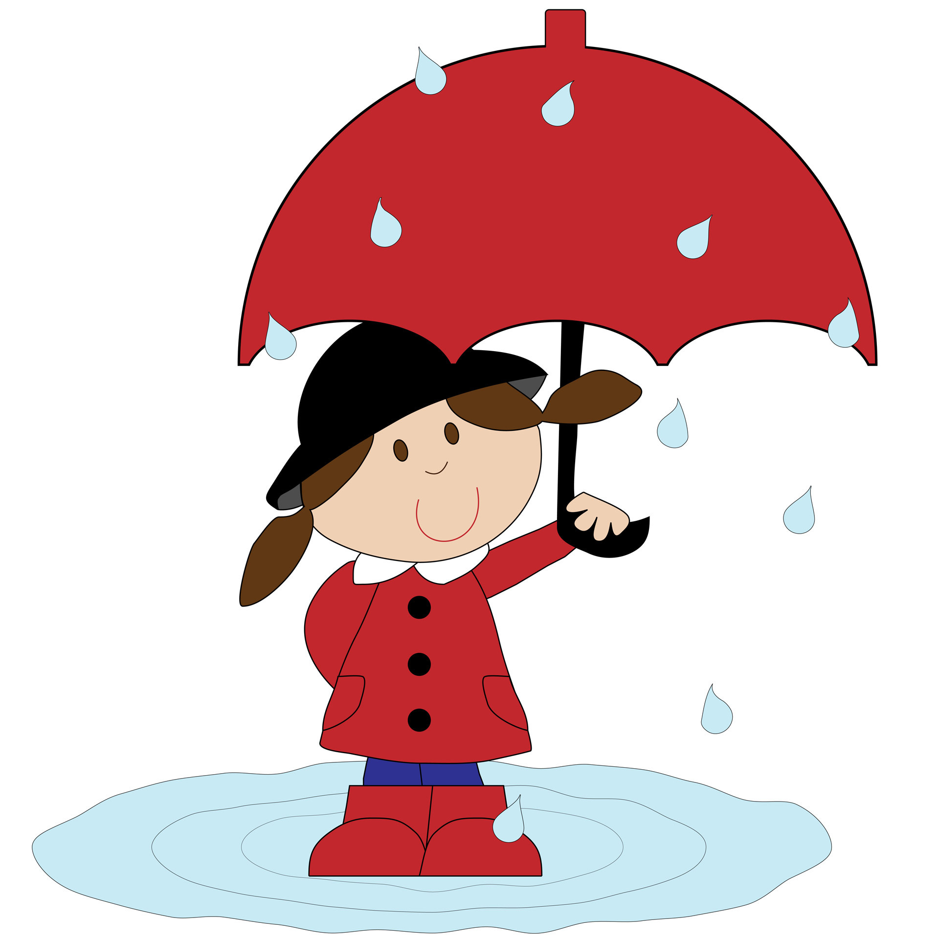 Umbrella clipart unbrella. Red transitionsfv