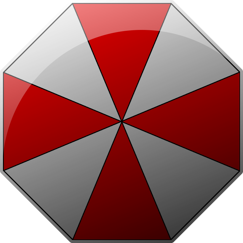 Umbrella corporation png. Logo by tobu on