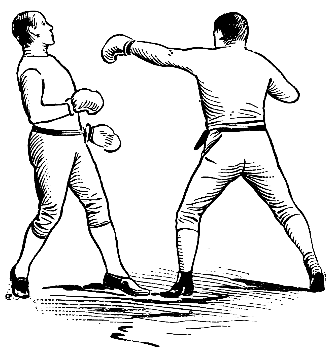 Umpire clipart boxing referee. Athletics and manly sport