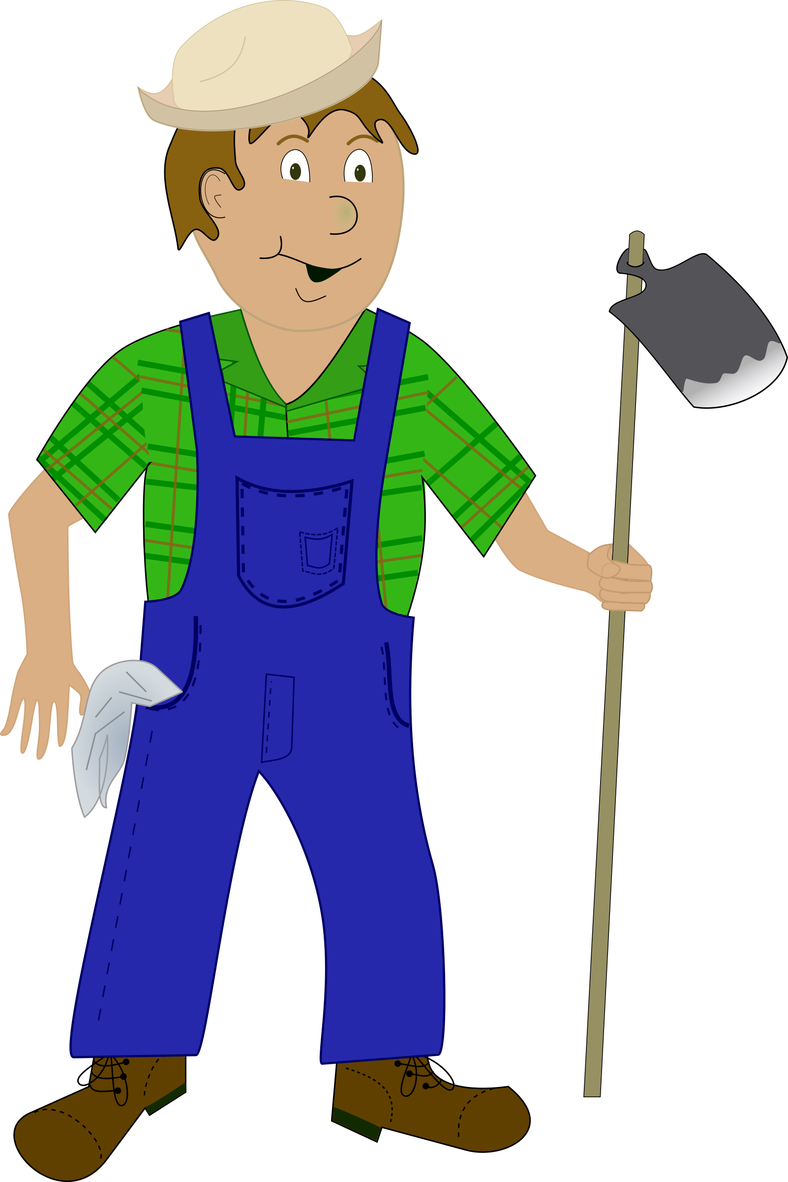 Farming clipart farm worker. Farmer big image png