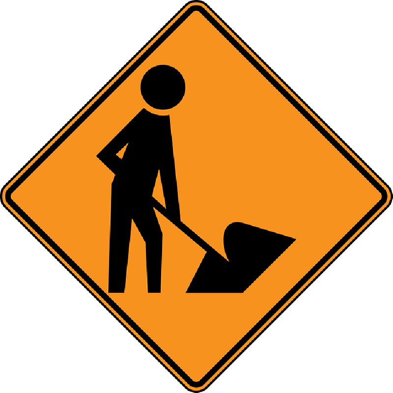 Under construction sign png. Image work in progress