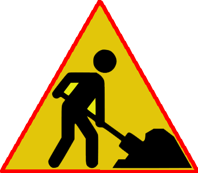 Under construction sign png. File road wikimedia commons