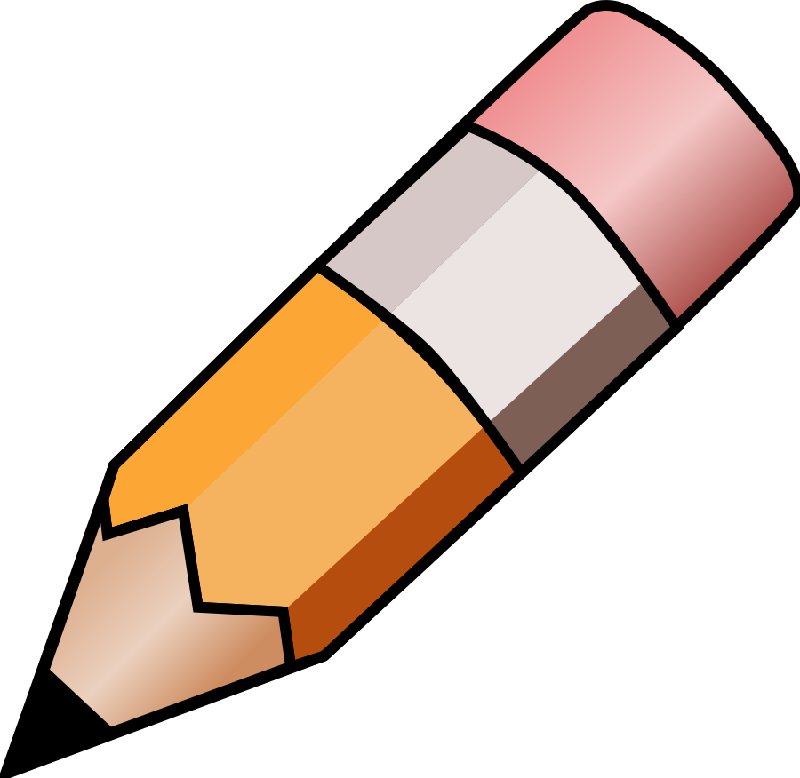 Under the clipart pencil. Free pictures of download