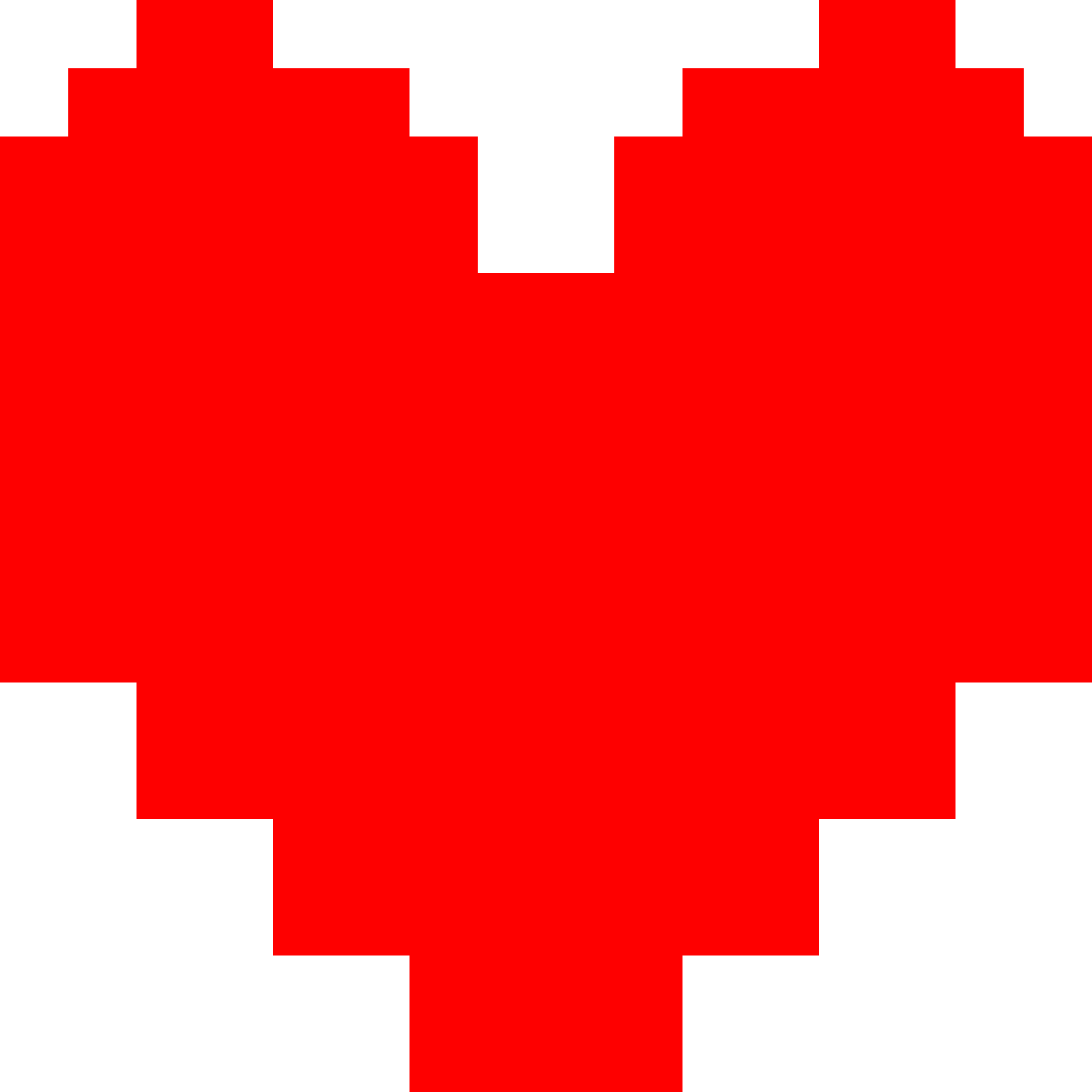 undertale red png
