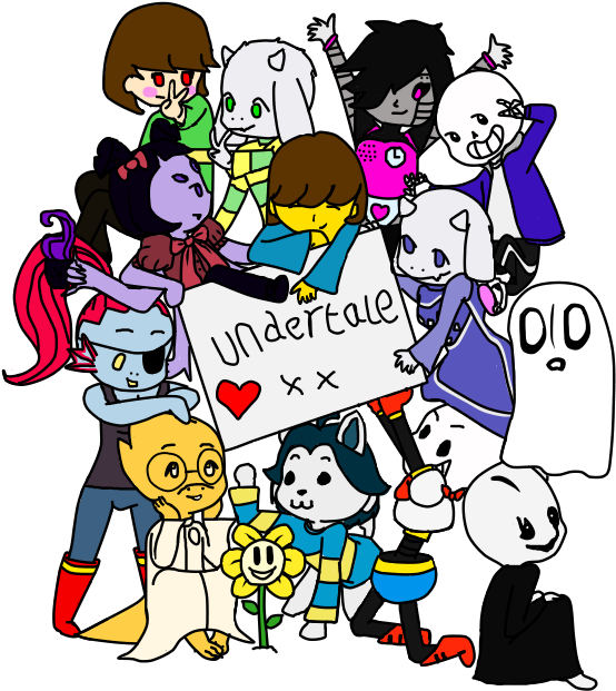 Undertale main character png. Download characters by pillow