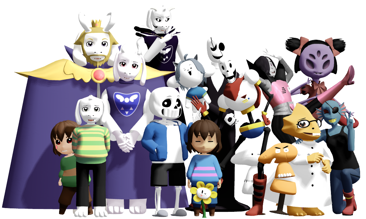 Undertale characters png. Image result for all