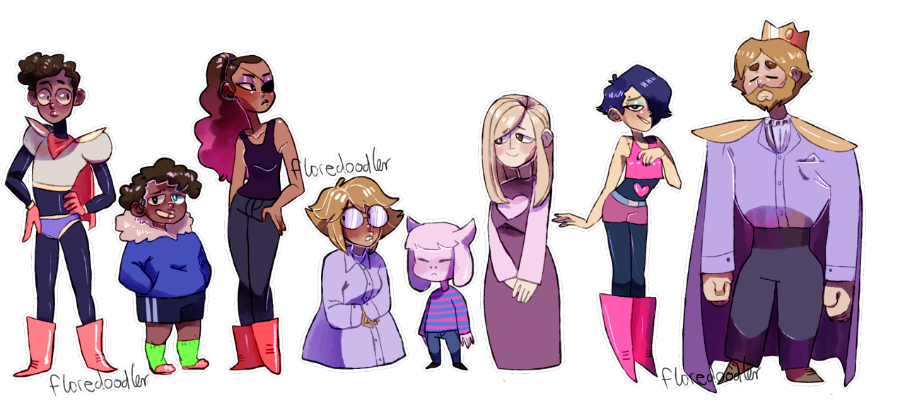 Undertale characters png. Overtale know your meme